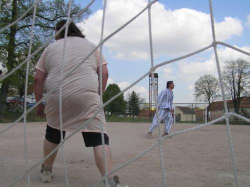 pouťový fotbalový zápas