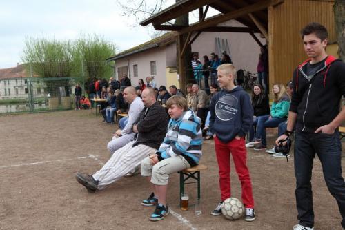 pouťový fotbal
