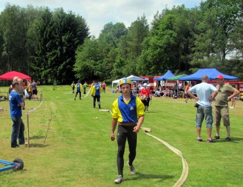 soutěž v požárním sportu